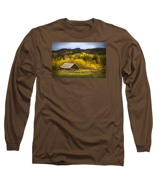 Long Sleeve T-Shirt featuring the photograph Road To Steamboat Lake by John Hix