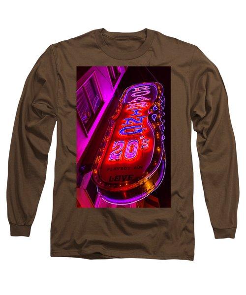 Roaring 20's Neon Long Sleeve T-Shirt