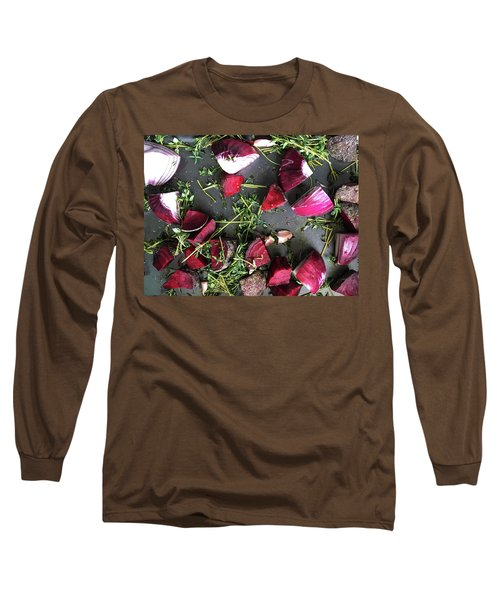 Roasting Vegetables Long Sleeve T-Shirt