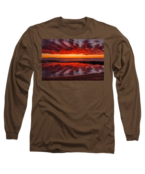 Rock Pool Reflections Long Sleeve T-Shirt