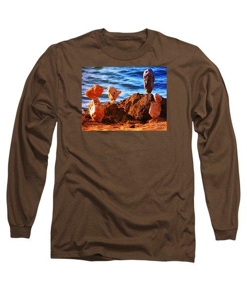 Rock Stacking Long Sleeve T-Shirt
