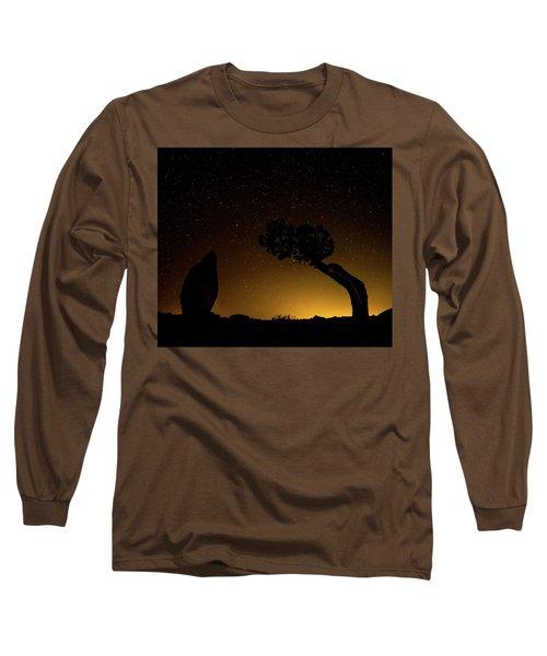 Rock, Tree, Friends Long Sleeve T-Shirt