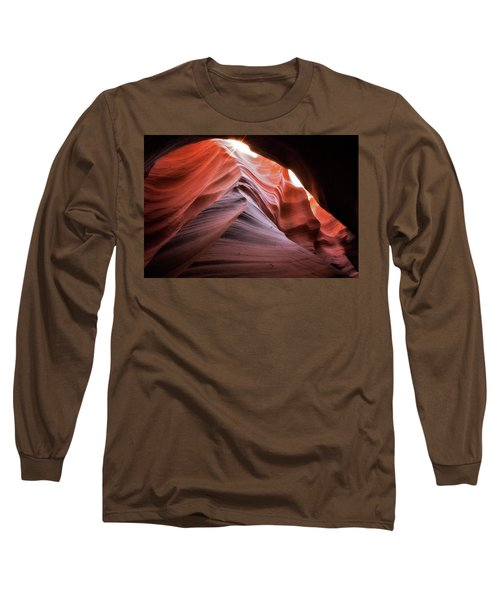 Rock Waves Long Sleeve T-Shirt by Nicki Frates