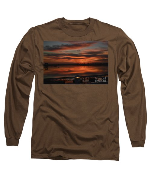 Room With A View Long Sleeve T-Shirt by Kathy Baccari