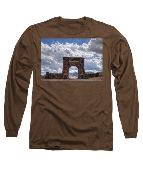 Roosevelt Arch Long Sleeve T-Shirt