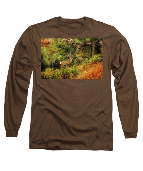 Roosevelt Deer Long Sleeve T-Shirt