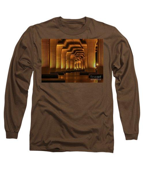 Roosevelt Night Shot Long Sleeve T-Shirt by Tom Claud