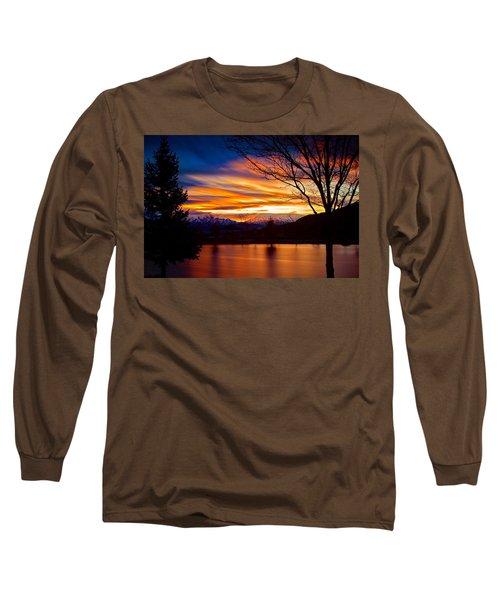Rose Canyon Dawning Long Sleeve T-Shirt by Paul Marto