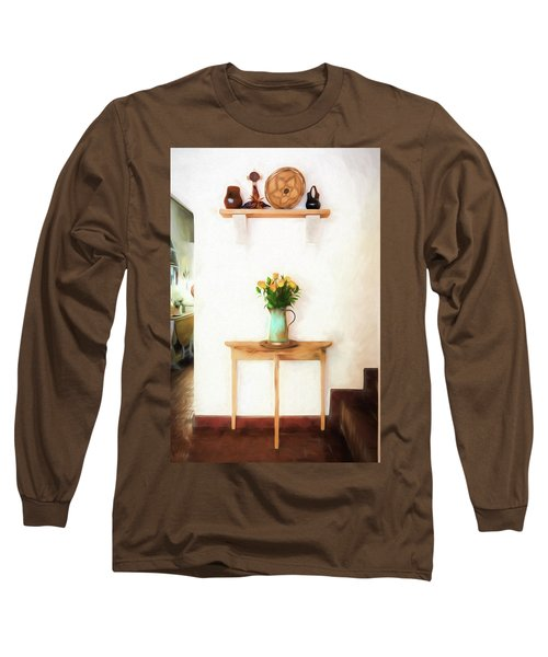 Rose's On Table Long Sleeve T-Shirt
