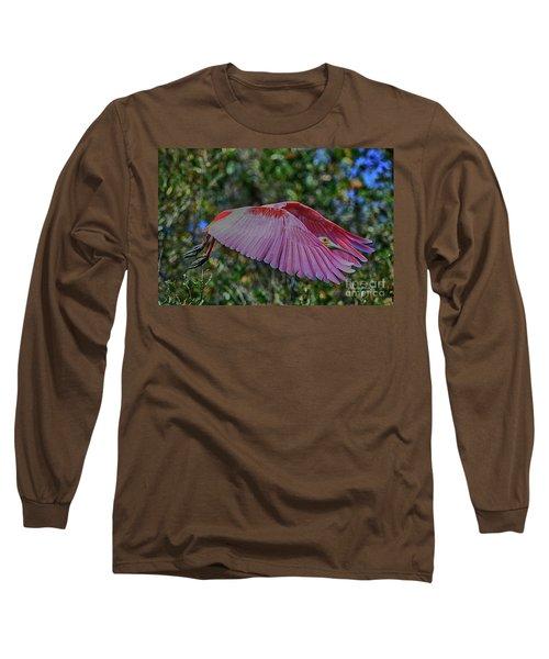 Long Sleeve T-Shirt featuring the photograph Rosetta Beauty by Deborah Benoit