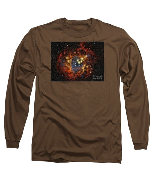 Rosette Nebula  ... Long Sleeve T-Shirt