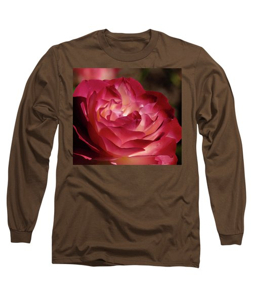 Rosy Closeup Long Sleeve T-Shirt