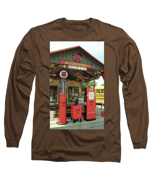 Route 66 - Shea's Gas Station Long Sleeve T-Shirt