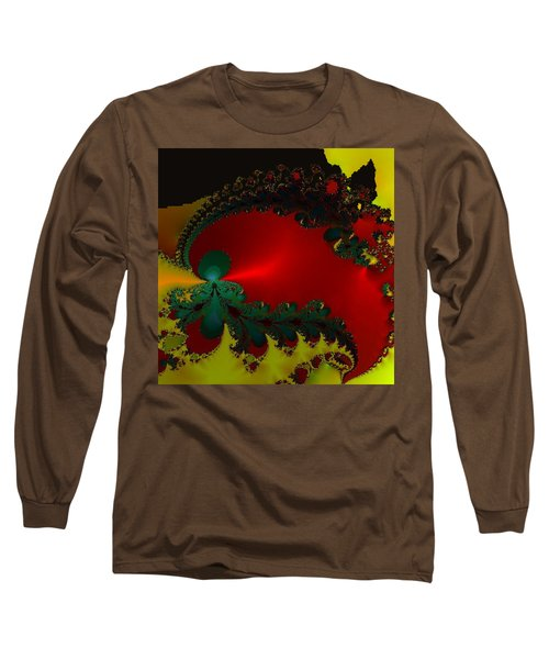 Royal Red Long Sleeve T-Shirt by Kevin Caudill