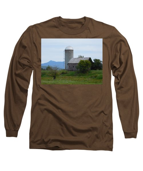 Rural Vermont Long Sleeve T-Shirt by Catherine Gagne