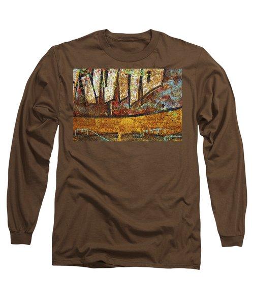 Rust Colors Long Sleeve T-Shirt