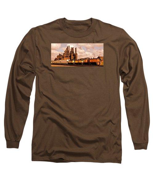 Rust In Peace Long Sleeve T-Shirt by DJ Florek