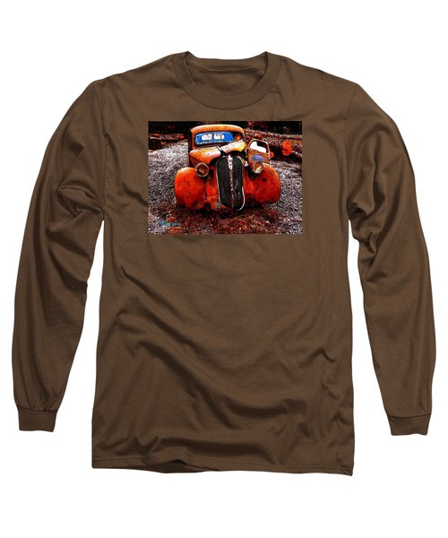 Long Sleeve T-Shirt featuring the photograph Rust In Peace by Sadie Reneau