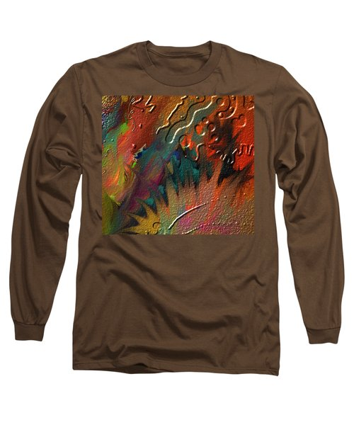Long Sleeve T-Shirt featuring the painting Rust Never Sleeps by Kevin Caudill