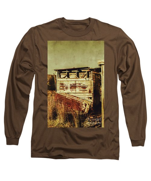 Rustic Abandonment Long Sleeve T-Shirt