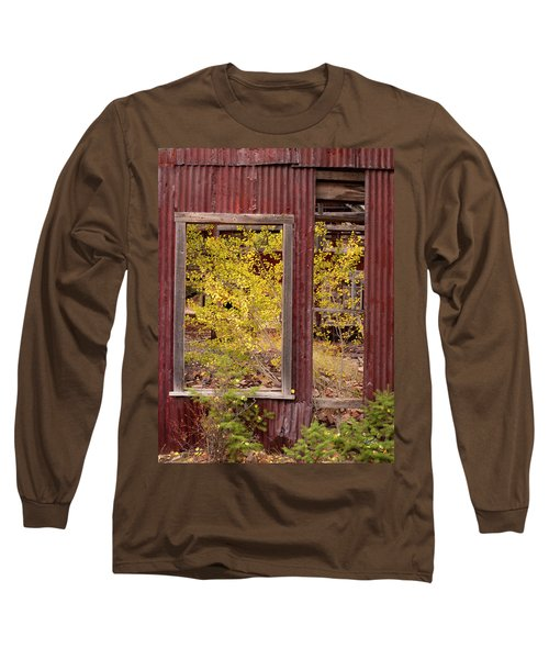 Rustic Autumn Long Sleeve T-Shirt by Leland D Howard