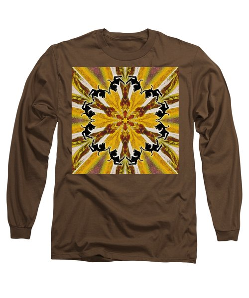 Long Sleeve T-Shirt featuring the digital art Rustic Lifespring by Derek Gedney
