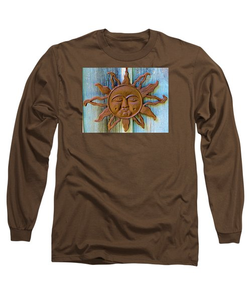 Rustic Sunface Long Sleeve T-Shirt