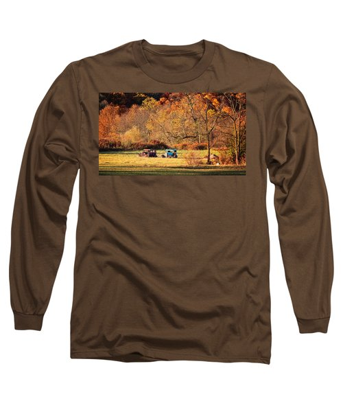 Rusty And Oldie Long Sleeve T-Shirt by Eduard Moldoveanu