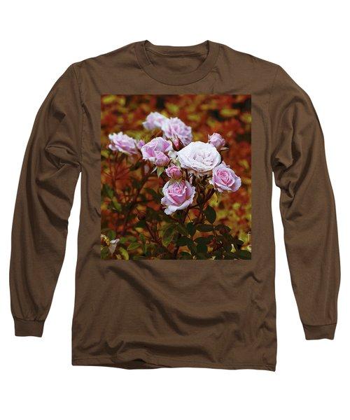 Rusty Romance In Pink Long Sleeve T-Shirt