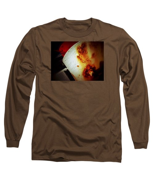 Rusty Winch Long Sleeve T-Shirt by Olivier Calas