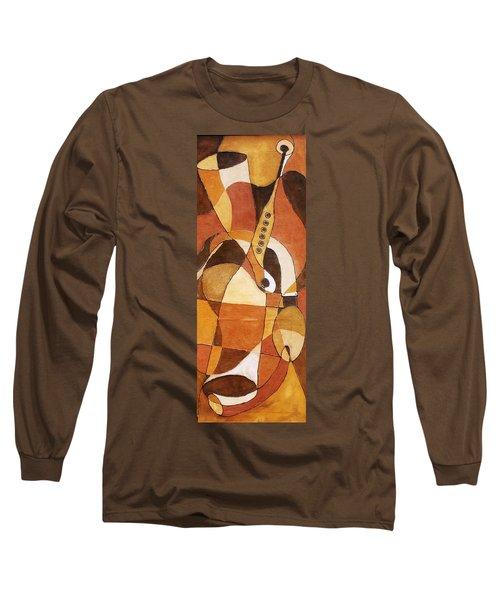 Rythm Of Unity Long Sleeve T-Shirt by Bankole Abe
