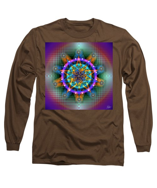 Sacred Geometry 661 Long Sleeve T-Shirt