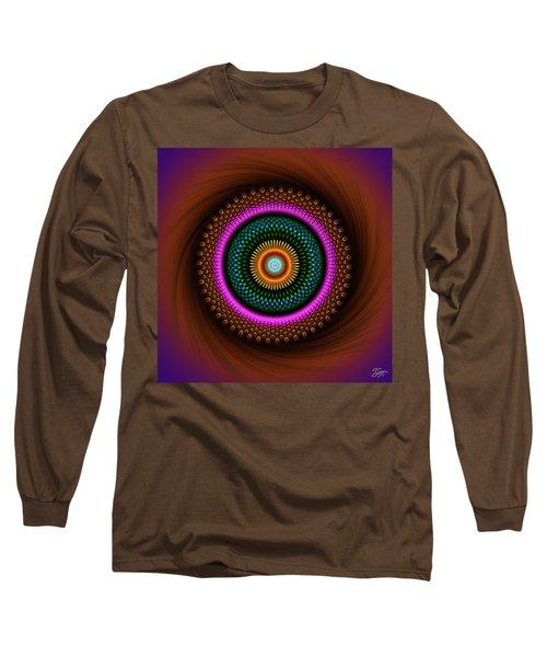 Sacred Geometry 664 Long Sleeve T-Shirt