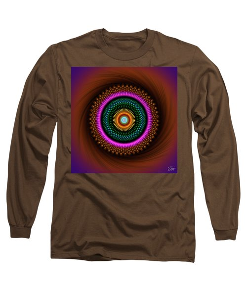 Sacred Geometry 664 Long Sleeve T-Shirt