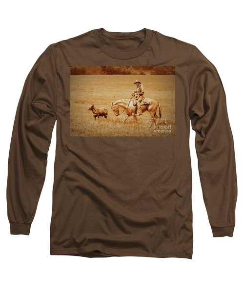 Safely Home Long Sleeve T-Shirt by Myrna Bradshaw