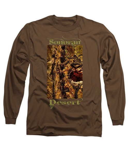 Saguaro Detail No. 12 Long Sleeve T-Shirt