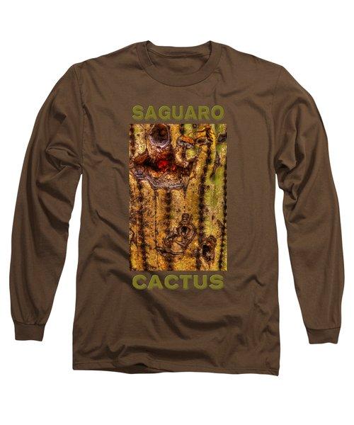 Saguaro Detail No. 18 Long Sleeve T-Shirt