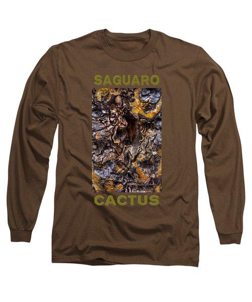 Saguaro Detail No. 19 Long Sleeve T-Shirt
