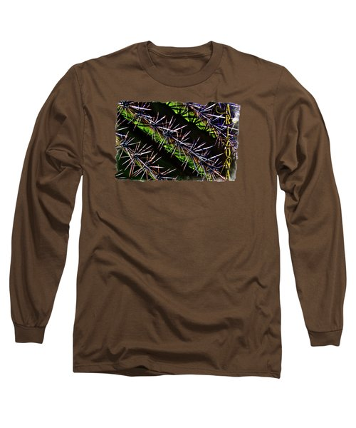 Saguaro Detail No. 28 Long Sleeve T-Shirt