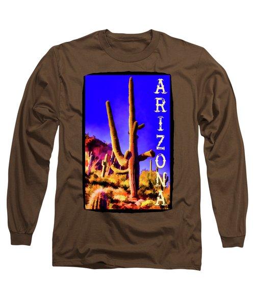 Saguaros Everywhere Long Sleeve T-Shirt