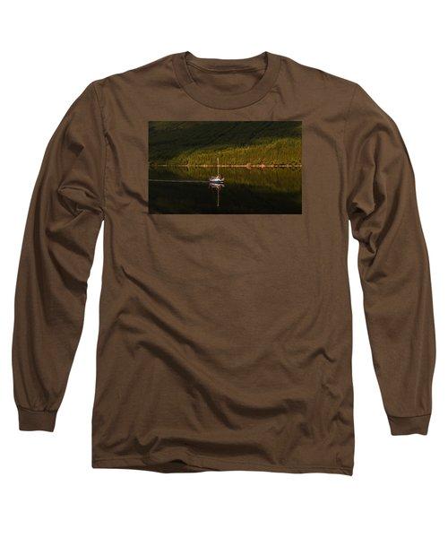 Sailboat In Sun Long Sleeve T-Shirt
