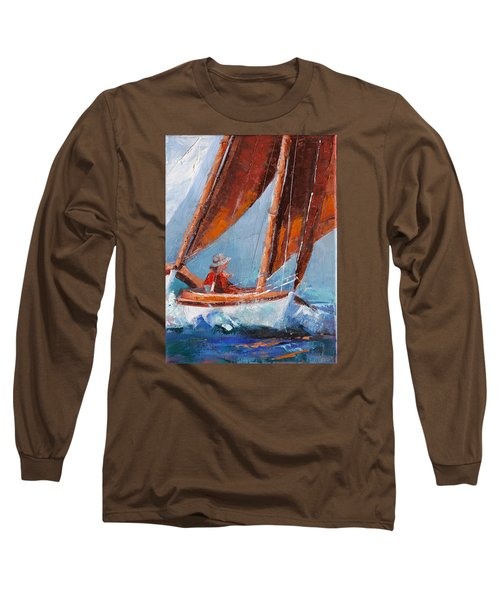 Sailboat Therapy Long Sleeve T-Shirt