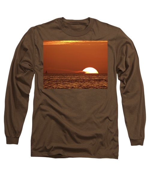 Sailing In The Sunset Long Sleeve T-Shirt