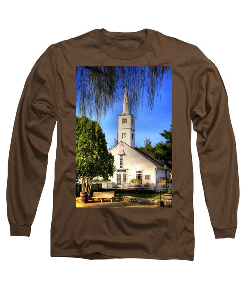 Long Sleeve T-Shirt featuring the photograph Saint Mathais Angelican Church by Tom Prendergast