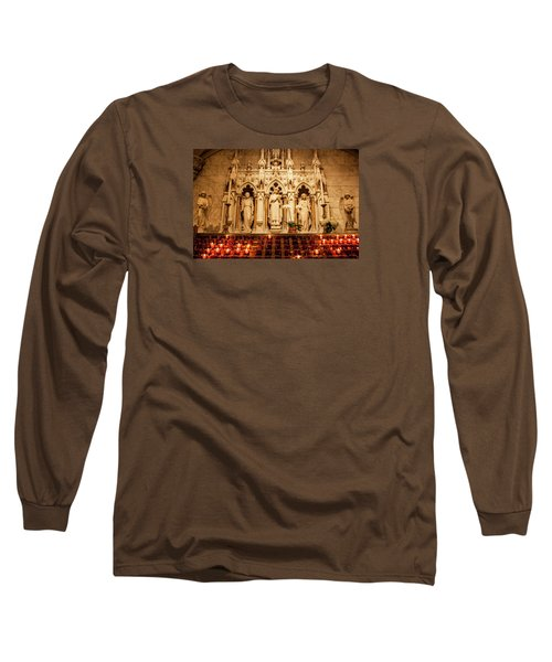 Long Sleeve T-Shirt featuring the photograph Saint Rose Of Lima Altar by Jean Haynes