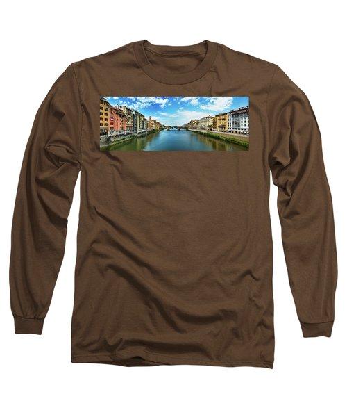 Saint Trinity Bridge From Ponte Vecchio Long Sleeve T-Shirt