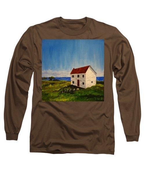 Saltbox House Long Sleeve T-Shirt