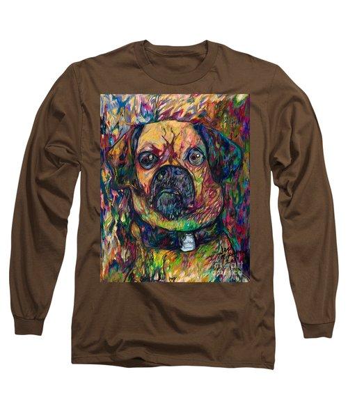Sam The Dog Long Sleeve T-Shirt