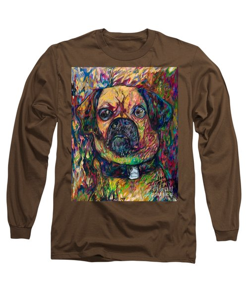 Sam The Dog Long Sleeve T-Shirt