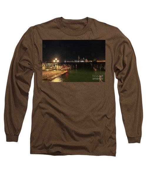 San Giorgio Maggiori At Night Long Sleeve T-Shirt